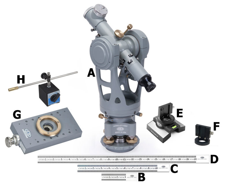 Sawmill alignment kit components