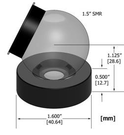 Brunson 1.5THDN Drift Nest for laser trackers