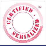 Certified & Serialized Available